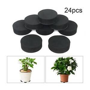 24X Flower Pot Feet Invisible Non-slip Garden Flower Pot Riser Plant Desk Pad
