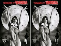 VENGEANCE OF VAMPIRELLA #1 AOD COLLECTABLES EXCLUSIVE CASARINI COVER SET OF 2