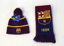 Barcelona Scarf + Beanie Winter Soccer Official Merchandise FC Barcelona