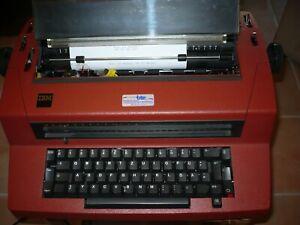 IBM 670X Kugelkopf Schreibmaschine elektrisch rot gepflegt