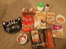 Cat Food/treat Mixed Variety Lot