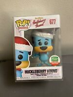Funko Pop! Huckleberry Hound #677 Funko Shop Cyber Monday Exclusive w/ protector