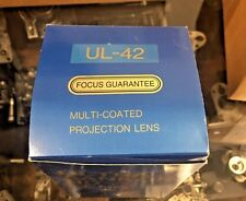 "UL-42 ULTRA-SANKOR HD f=42mm-1.65"" MC 35mm Cine Projection Lens.Minty!"