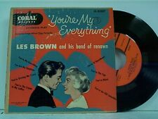 "LES BROWN ""YOU'RE MY EVERYTHING"" DOUBLE  EP w/PS"