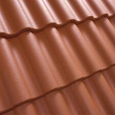 Dachziegel Dachsteine Beton  *Doppel S*   ZIEGELROT  30 Jahre Garantie  1.Sorte