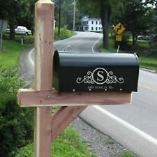Mailbox Vinyl Decal Sticker Graphic Home Garden Decor Custom Personalized