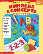 Scholastic Success with Numbers and Concepts by Inc. Staff Scholastic (2004, Pap