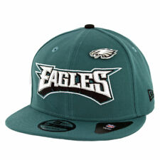 "New Era 950 Philadelphia Eagles ""Pinned"" Snapback Hat (Midnight Green) Men's Cap"