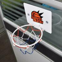 Mini Children Play Hoop Board Net Ring Hanging Home Basketball Toy Office R N4X9