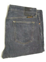 Civilianaire Mens Blue Japanese Selvedge Straight Jeans size 35 36x30 USA Made
