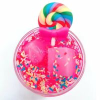 Fairy Floss Cloud Slime Reduced Pressure Mud Stress Relief Kids Clay Toy R#1