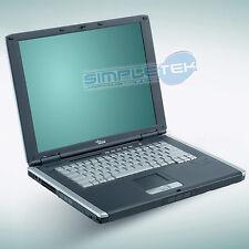COMPUTER PORTATILE FUJITSU C1320 HD 40GB, WIFI MASTERIZZATORE DVD, RS232 SERIALE