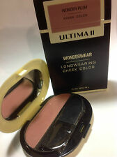 Ultima II Wonderwear Longwearing Cheek Color Blush ( WONDER PLUM ) .28 oz NEW