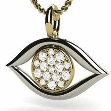 Natural Very Good Cut VS1 Fine Diamond Necklaces & Pendants