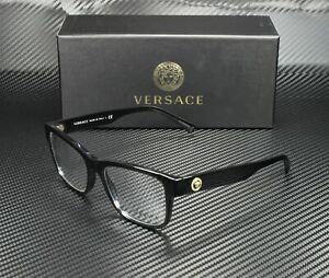 VERSACE VE3266 GB1 Men's Pillow Demo Lens Eyeglasses Frame 55 mm