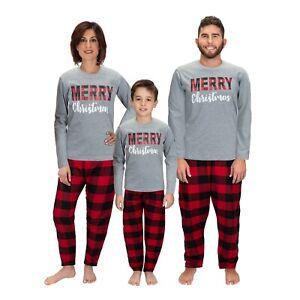 Christmas Family Matching Pajama sets ELF Deer Buffalo Plaid Men women Kid PJs