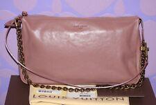 Louis Vuitton $2450+ Boudoir Pochette MM Lockit 2Way Bag ROSE *Limited RUNWAY*!