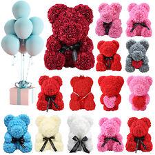 Rose Bär 24 25 38 40cm PE Schaum Rose Hochzeit Valentinstag Geschenk