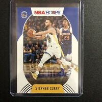 2020-21 Stephen Curry Steph Panini NBA Hoops Base #130 Golden State Warriors