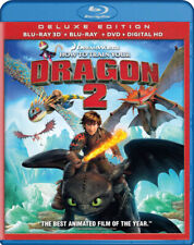 HOW TO TRAIN YOUR DRAGON 2 (DELUXE EDITION) (BLU-RAY 3D + BLU-RAY + DV (BLU-RAY)