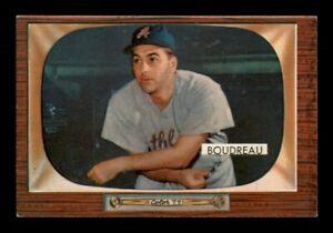 1955 Bowman Set Break #89 Lou Boudreau NM *OBGcards*