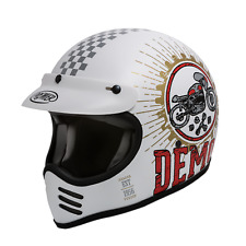 CASCO INTEGRALE VINTAGE PREMIER MX SPEED DEMON SD8 BM TAGLIA XL