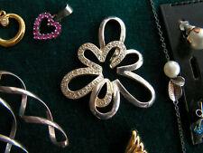 Slberschmuck konvolut, Anhänger, Armband, Ringe, Ohrstecker Uhr auch Modeschmuc
