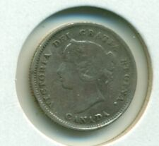 CAP Canada 5 cents 1889 Fine