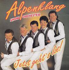 ALPENKLANG SHOW ORCHESTER - CD - JETZT GEHT'S LOS !