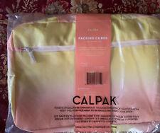 Calpak 3 Piece Packing Cubes Set FitFabFun Sorbet Nib