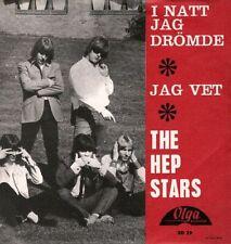 "HEP STARS: I Natt Jag Drömde (´66 / rare orig. Swedish pre-ABBA 7"" / 1st label)"