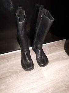 Colorado Black Leather Boots