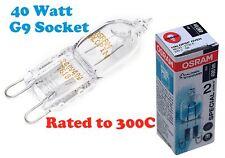 Electrolux OSRAM Cooker Oven lamp bulb G9 Socket 40W 300ºC
