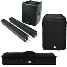 LD Systems MAUI 28 G2  Säulen PA System + Sat- u. Subbag aktiv  Mixer Bluetooth