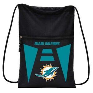 Miami Dolphins NFL Cinch Back Sack Drawstring Bag