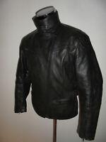 vintage REVENGER Motorradjacke Lederjacke biker 90s oldschool 90er jacket 44