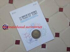 2 Euro CC Coincard BU Portugal 2012 - 10 Ans de l'Euro TYE