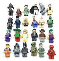 LEGO LOT OF 24 PREMIUM MINIFIGURES SOME RARES BATMAN MOVIE SERIES PATRICK MORE