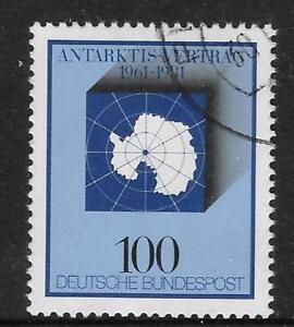 WEST GERMANY 1981 ANTARCTIC TREATY 1v Used (No.2)