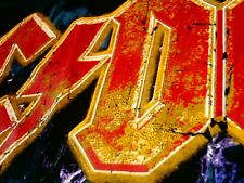 ACDC BACK IN BLACK HELLS BELLS T-SHIRT SZ S AMERICAN TOUR 1980 RETRO VTG 2015