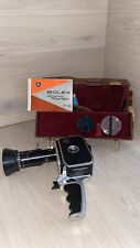 Bolex P2 8mm Zoom Movie Cam. w/Case/Ins. Original Manual/strap/cable