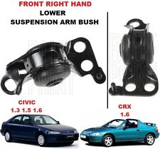 FOR HONDA CIVIC 1992-1996 + CRX 1992-1998 FRONT RIGHT LOWER SUSPENSION ARM BUSH