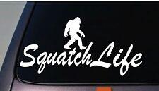 squatch life bigfoot sasquatch sticker decal funny Forest foot yetti skunk ape