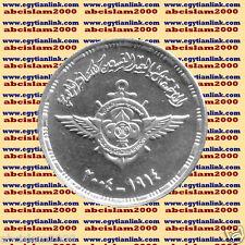 """2004  Egypt Egipto Египет Ägypten silver coins """"Egyptian Scouting Movement """",1 P"""