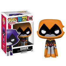 Funko POP - DC Comics Teen Titans Go - Orange Raven Vinyl Figure
