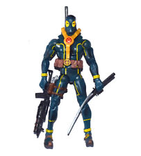 Marvel Legends Comic Super Hero Deadpool Blue Suit Action Figure Loose UK