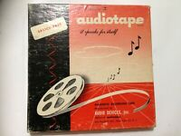 Audiotape Sound Recording 7 Inch Reel To Reel Tape. Good Condition. (FS22)