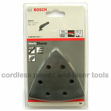 10 bosch béton delta sander feuilles abrasives 93mm mixed grit 2608607543