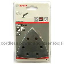 10 Bosch CONCRETE Delta Sander Sanding Sheets 93mm Mixed Grit 2608607543