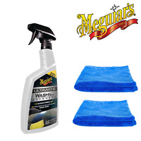 Meguiar's Ultimate Waterless Wash and Wax Anywhere 768ml & 2 Microfibre Towels